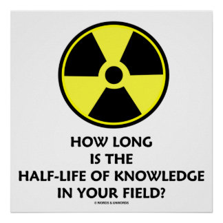 How Long Is The Half-Life Knowledge In Your Field? Poster
