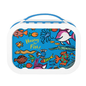 How Many Different Fish Can You See? Yubo Lunch Box