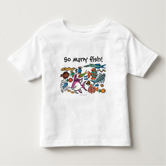 How Many Different Fish Can You See? Tshirts