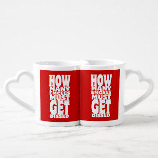 How Many Emcees Must Get Dissed Coffee Mug Set