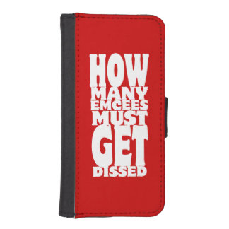How Many Emcees Must Get Dissed iPhone SE/5/5s Wallet