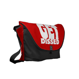 How Many Emcees Must Get Dissed Messenger Bag