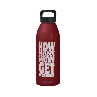 How Many Emcees Must Get Dissed Drinking Bottle