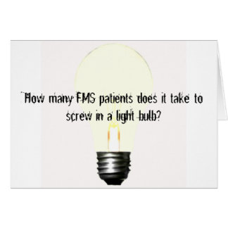How many FMS patients does it take... Card