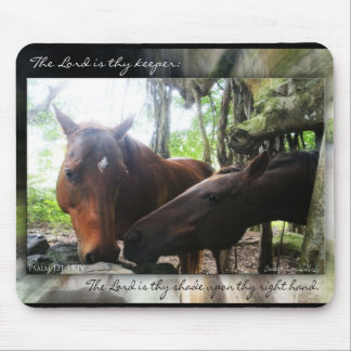 How Many Horses? Mouse Pad