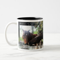 How Many Horses? Two-Tone Coffee Mug