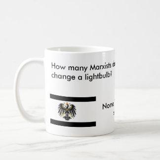 How many Marxists does it take? Coffee Mug