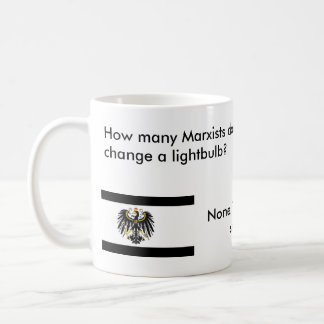 How many Marxists does it take? Classic White Coffee Mug