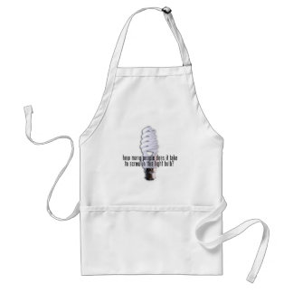 How Many People Does It Take Adult Apron
