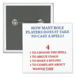 How Many Players to Cast a Spell 2 Inch Square Button