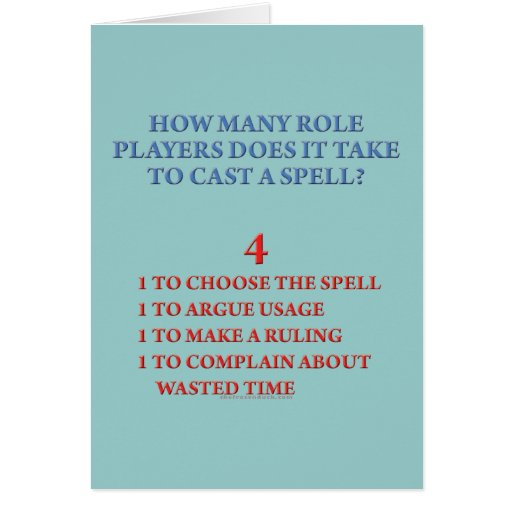 How Many Players to Cast a Spell Card