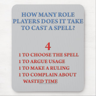 How Many Players to Cast a Spell Mouse Pad