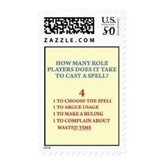 How Many Players to Cast a Spell Postage