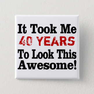How Many Years to Awesome Button
