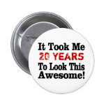 How Many Years to Awesome Buttons