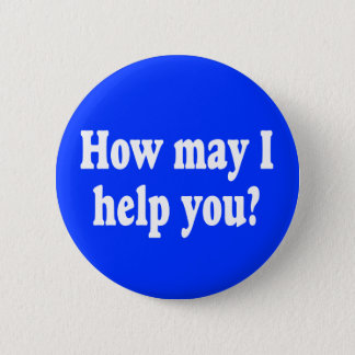 How May I Help You? button