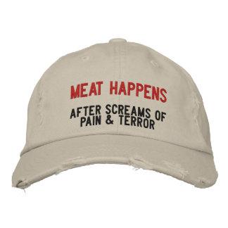 How Meat Happens Baseball Cap