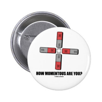 How Momentous Are You? (Quadrupole Moment) Pins