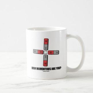 How Momentous Are You? (Quadrupole Moment) Coffee Mug