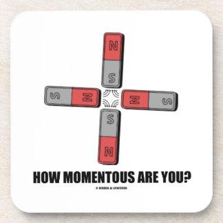 How Momentous Are You? (Quadrupole Moment) Coasters