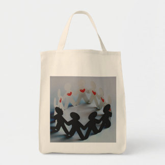 How much do I love thee Organic tote Tote Bag