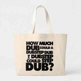 How Much Dubstep? Jumbo Tote Bag