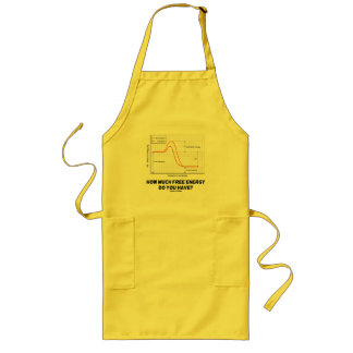 How Much Free Energy Do You Have? (Chemistry) Long Apron