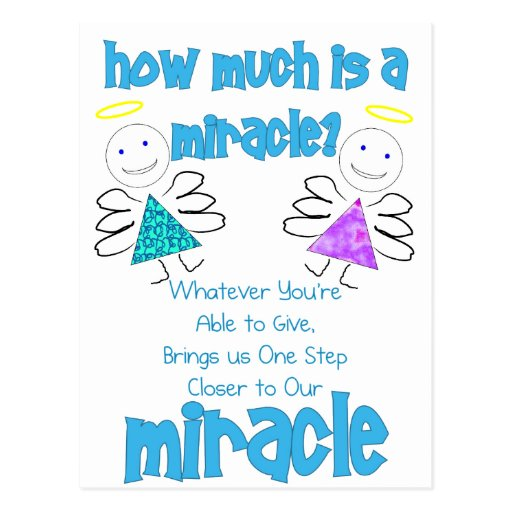 How Much is a Miracle? Postcards