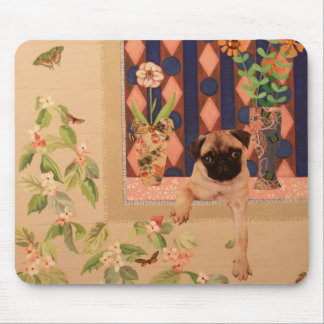 How Much is that Doggie in the Window: Pug Pup Mouse Pad