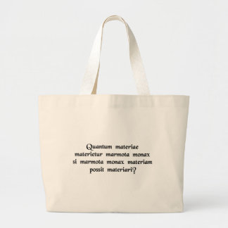 How much wood would a woodchuck chuck if..... tote bag