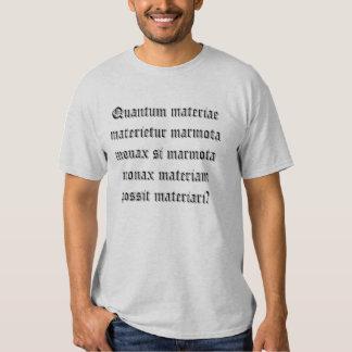 How much wood would a Woodchuck chuck Shirt