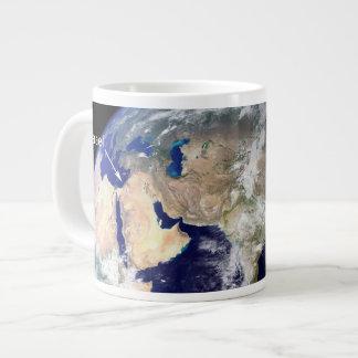 How NASA Satellites See Israel Giant Coffee Mug