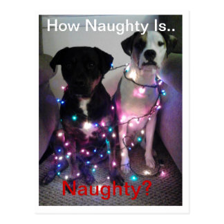 How Naughty Is... Naughty Postcard