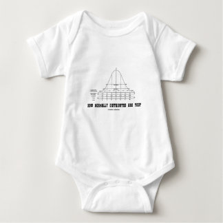 How Normally Distributed Are You? (Stats Humor) Baby Bodysuit