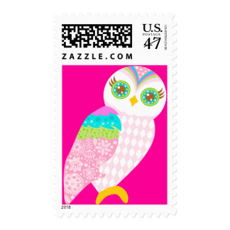 How Now Baby Pink Owl? Postage