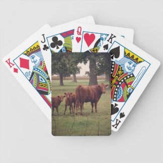 How Now Brown Cow Bicycle Playing Cards