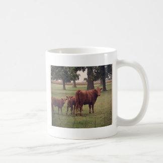 How Now Brown Cow Classic White Coffee Mug