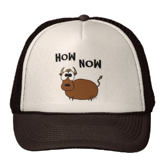 How Now Brown Cow Hat