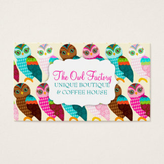 How Now Little Owl? Business Card
