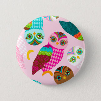 How Now Little Owl? Button