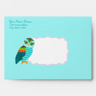 How Now Little Owl? Envelope