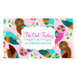 How Now Little Owls? Double-Sided Standard Business Cards (Pack Of 100)