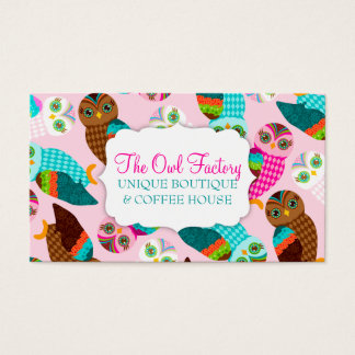 How Now Little Owls? Business Card