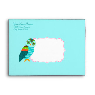 How Now Little Owls? Envelope