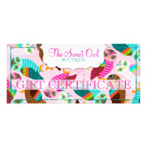 How Now Little Owls? Gift Certificate