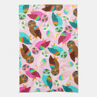 How Now Little Owls? Hand Towel