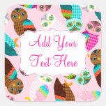 How Now Little Owls? Sticker