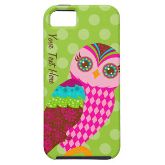 How Now Pink Owl? iPhone 5 Cases