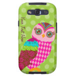 How Now Pink Owl? Galaxy S3 Covers