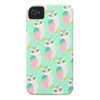 How Now White Owl - Polka Dots iPhone 4 Cases